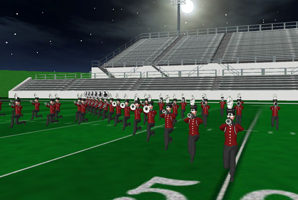 Bellefontaine HS Marching Band 2014