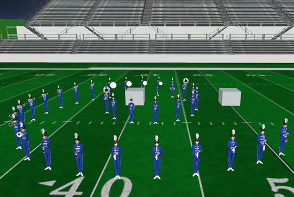 Southeastern HS Marching Band 2014