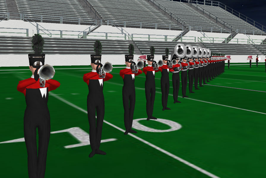 Westerville South HS Marching Band 2014